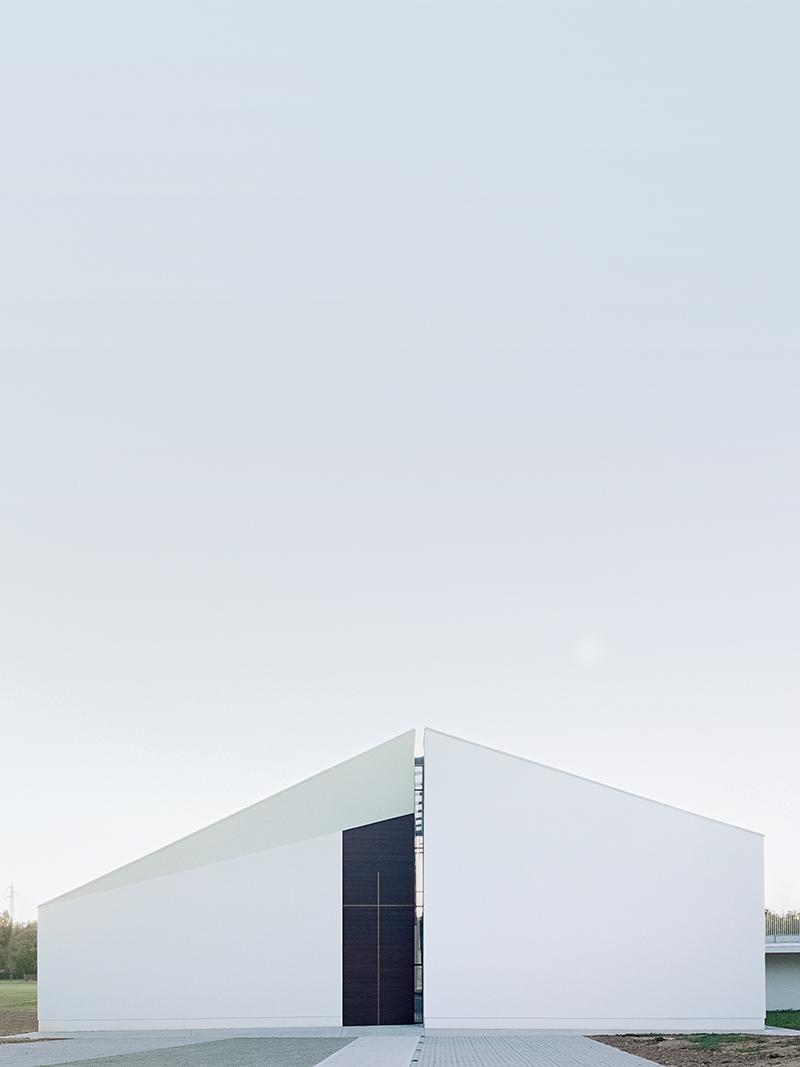 chiesa del buon ladrone lamber architetto