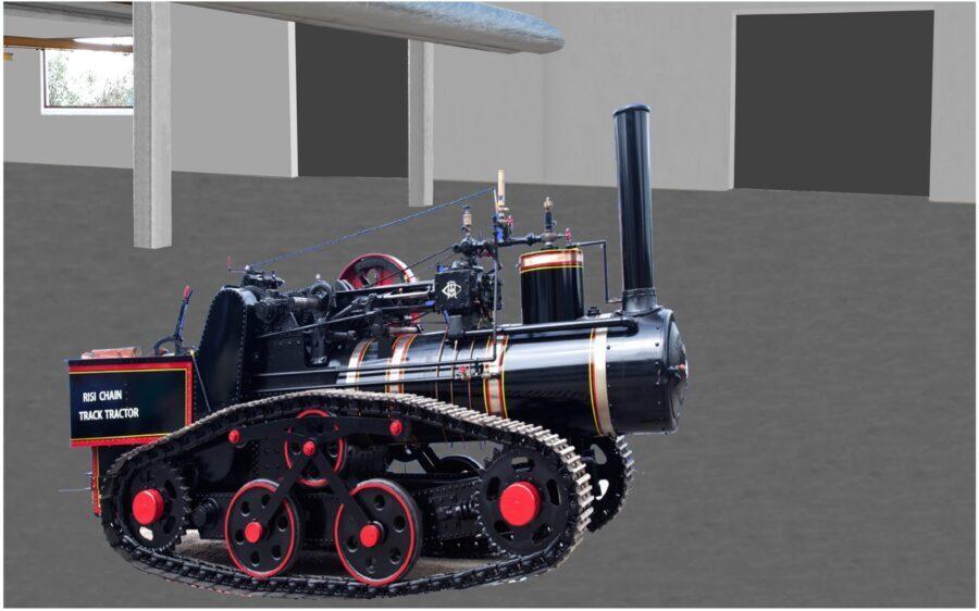 museo macchina a vapore